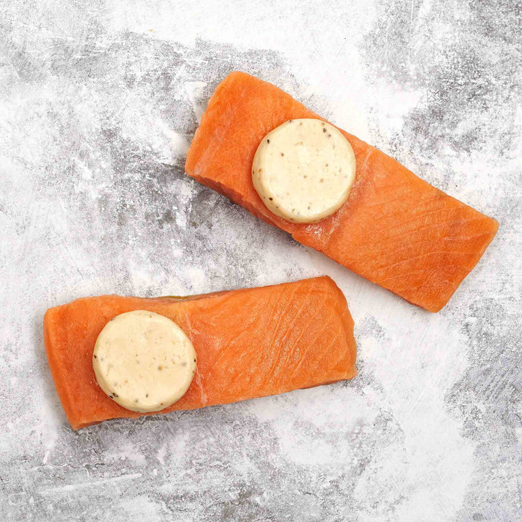 Skinless Atlantic Salmon with Maple Butter - Skinless Atlantic Salmon with Maple Butter