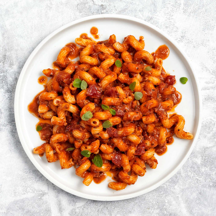 Ready Meal Beef Bolognese with Cavatappi - Ready Meal Beef Bolognese with Cavatappi