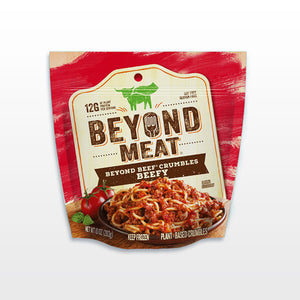 Beyond Beef Crumbles - Beyond Meat Package