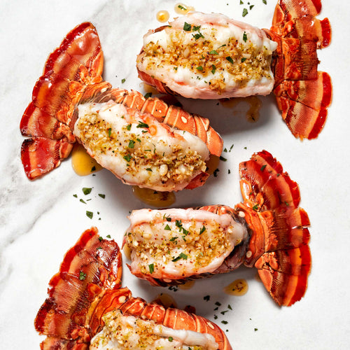 Spiny Florida Lobster Tail - Broiled Spiny Florida Lobster Tails