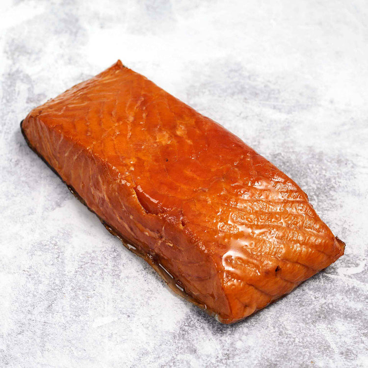 Classic Hot Smoked Salmon - Blue Circle - Classic Roasted Salmon - Blue Circle