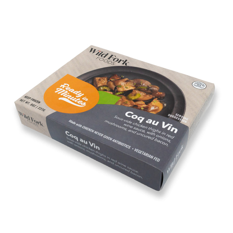 Coq Au Vin - Coq Au Vin In Package Perspective