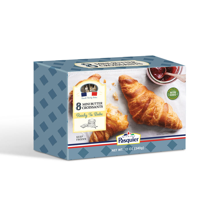 Mini Butter Croissants - Mini Butter Croissants Box