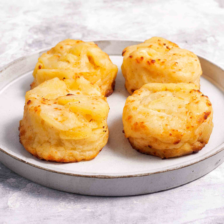 Cream & Cheese Potato Gratin - Cream & Cheese Potatoes Gratins - Simply Delectable