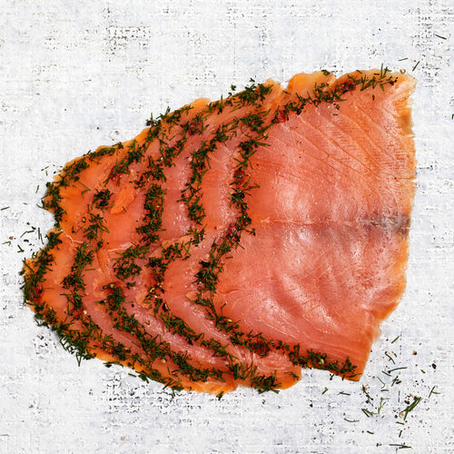 Gravadlax Smoked Salmon Raw