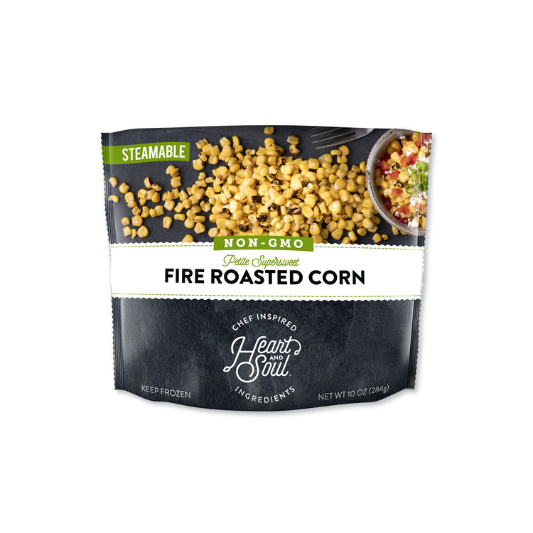 Fire Roasted Corn - Heart and Soul - Fire Roasted Corn - Heart and Soul