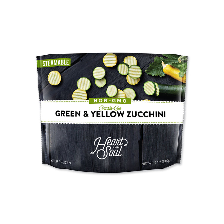 Green & Yellow Zucchini - Heart and Soul - Green and Yellow Zucchini Packaging