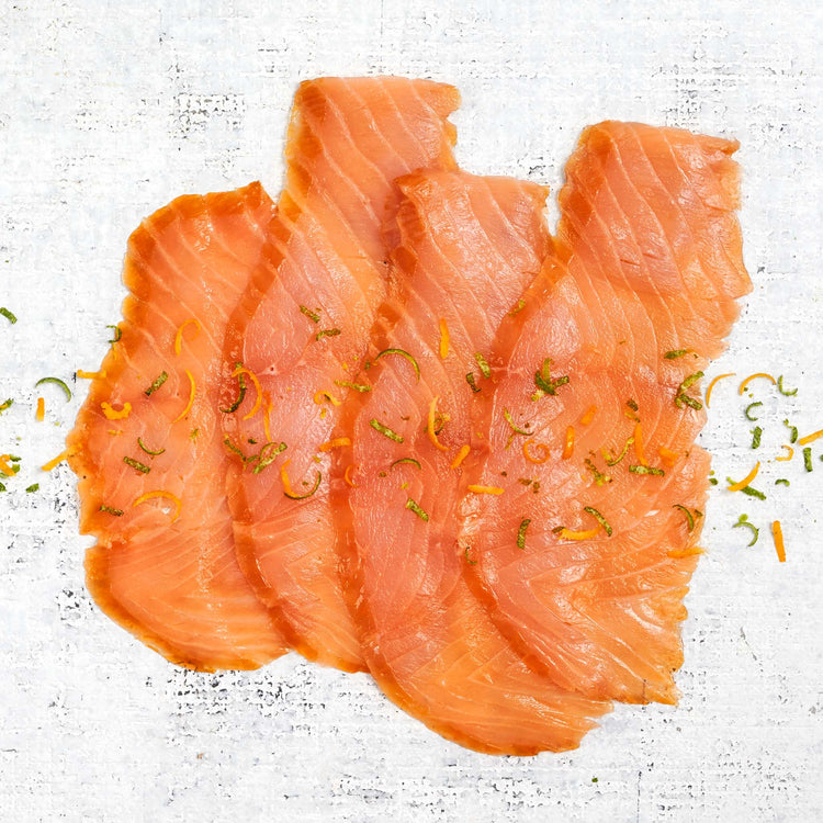 Gin & Tonic Smoked Salmon - Gin Tonic Seasoned Smoked Salmon
