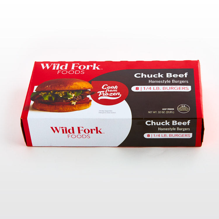 Beef Chuck Homestyle Burgers - Beef Chuck Homestyle Burgers Package