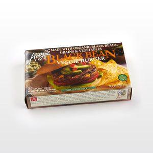 Black Bean Veggie Burger - Amy's Package