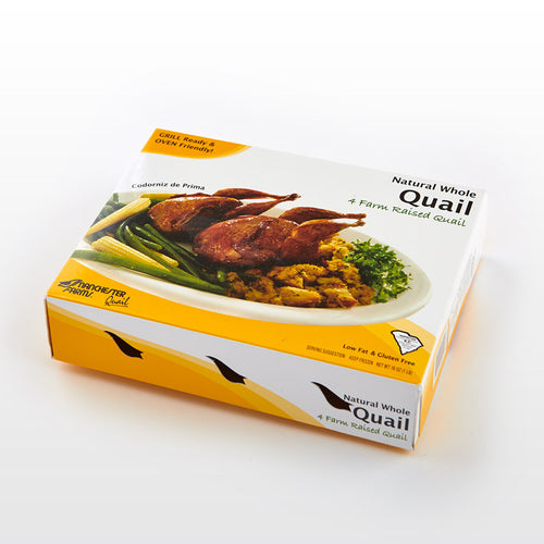 Whole Quails - Manchester Farms - Whole Quails - Manchester Farms Package