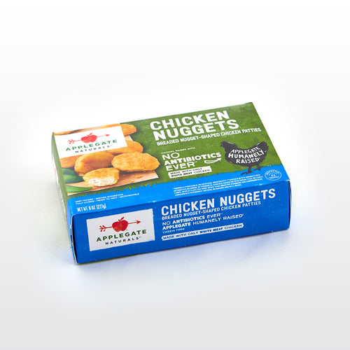 Fully Cooked Chicken Nuggets - Applegate - Fully Cooked Chicken Nuggets - Applegate Package