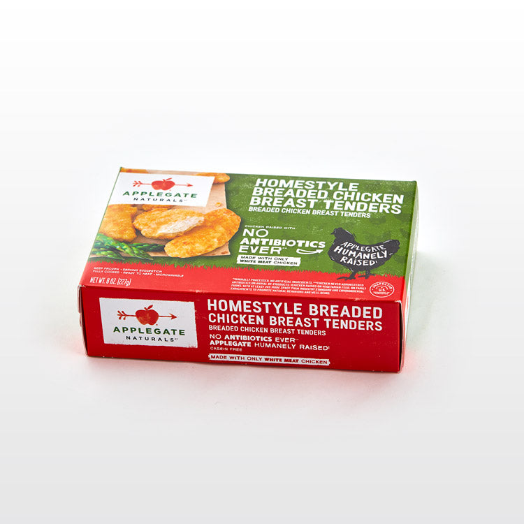 Fully Cooked Chicken Tenders - Fully Cooked Chicken Tenders - Applegate Package