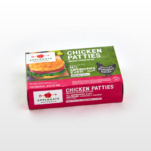 Fully Cooked Chicken Patties - Applegate - Fully Cooked Chicken Patties - Applegate Package