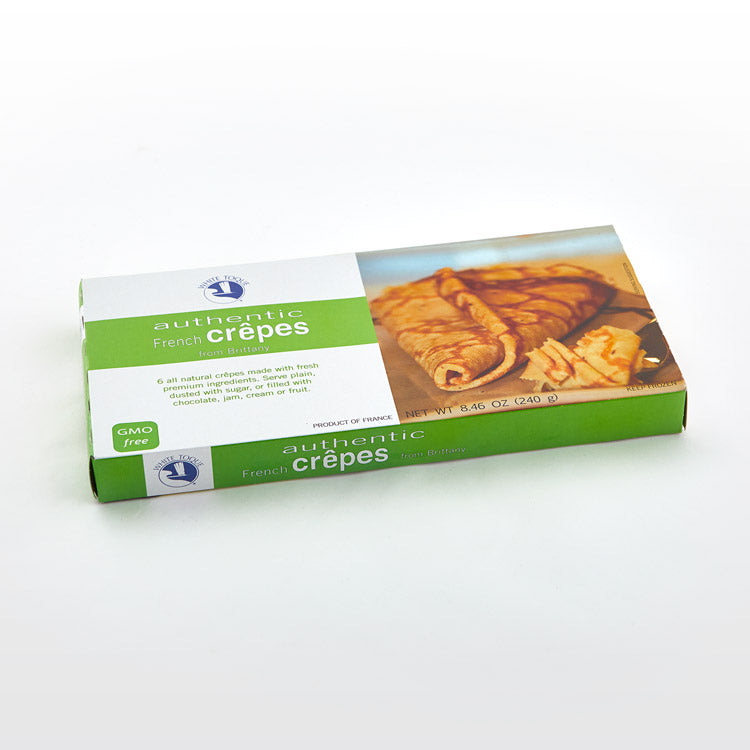 French Crêpes - White Toque - French Crêpes - White Toque Package
