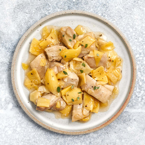 Lemon Chicken Artichokes