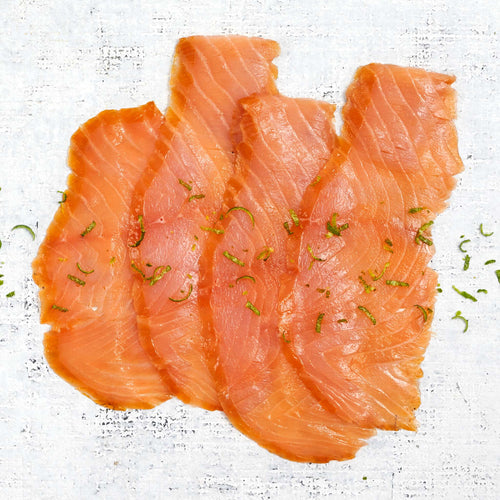 Mojito Smoked Salmon Raw