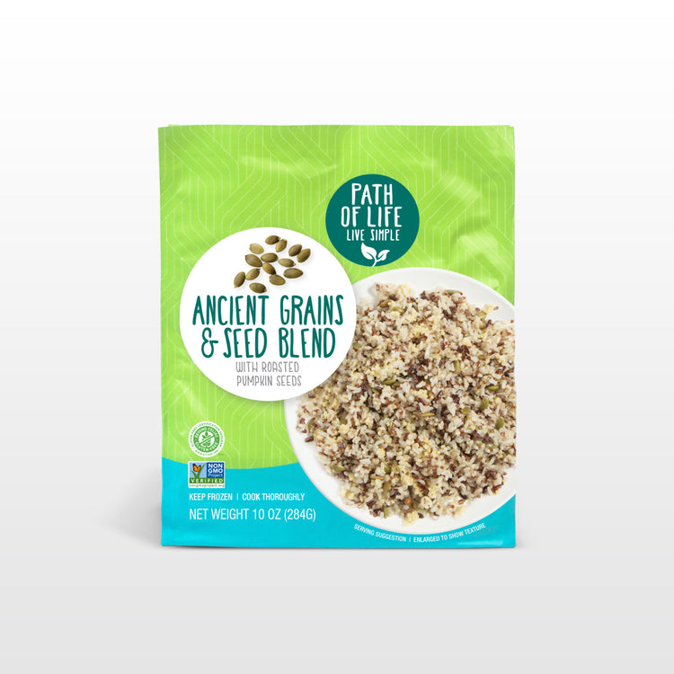 Ancient Grains & Seed Blend - Path of Life - Ancient Grains & Seed Blend - Path of Life Packaging