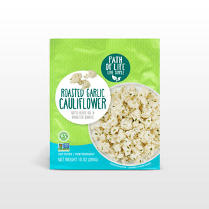 Roasted Garlic Cauliflower Packaging