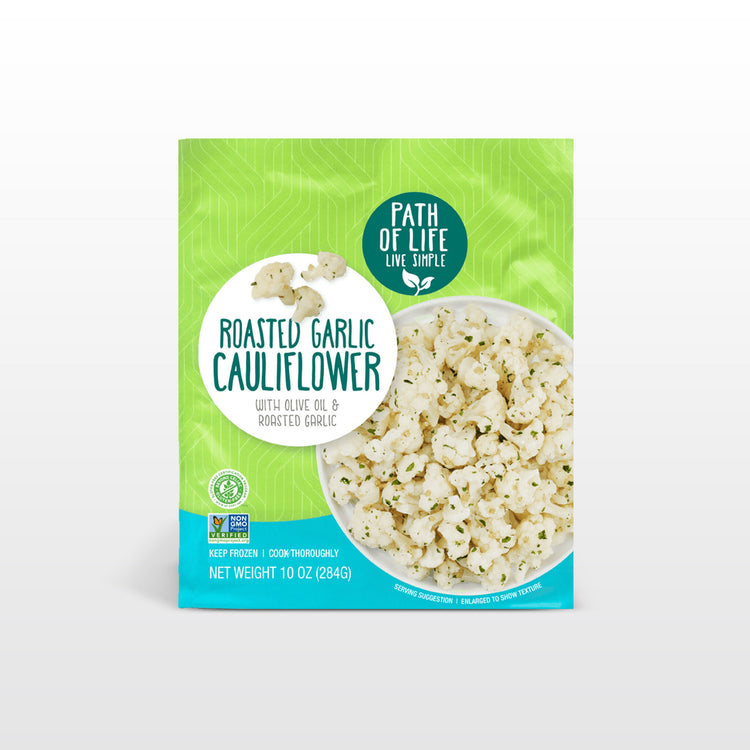 Roasted Garlic Cauliflower - Roasted Garlic Cauliflower Packaging