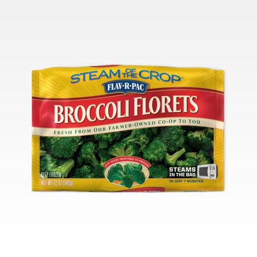 Steamable Broccoli Florets - Flav-R-Pac - Steamable Broccoli Florets - Flav-R-Pac - Package
