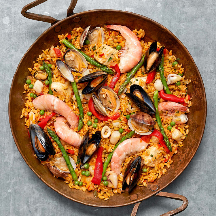 Raw Easy Peel Jumbo Shrimp - Paella