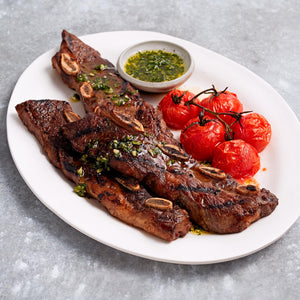 USDA Choice Black Angus Bone-In Beef Rib Short Ribs Flanken Style