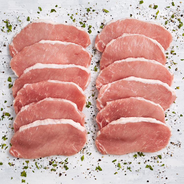 Antibiotic Free Pork Thin New York Chops - Antibiotic Free Pork Thin New York Chops