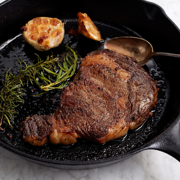 Antibiotic Free Angus Beef Ribeye Steak - Antibiotic Free Angus Beef Ribeye Steak