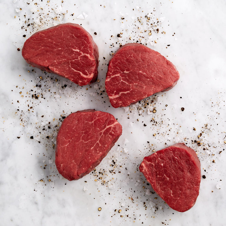 Beef Center Cut Filet Mignon - USDA Choice Beef Tenderloin Medallions