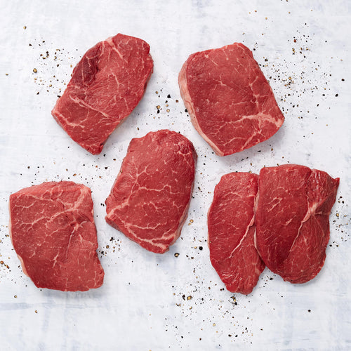 Grass Fed Beef Top Sirloin Steak - USDA Choice Grass Fed Boneless Beef Top Sirloin Steak