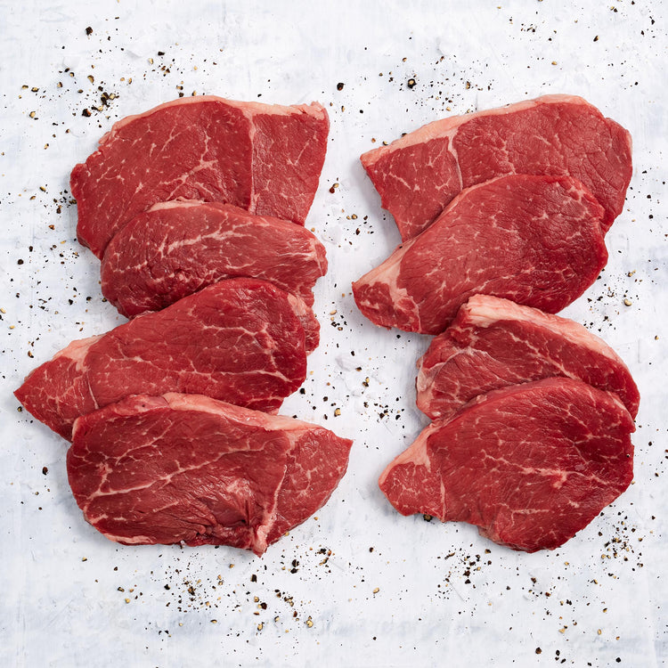 Beef Top Sirloin Steak - USDA Choice Boneless Beef Thin Top Sirloin Steak