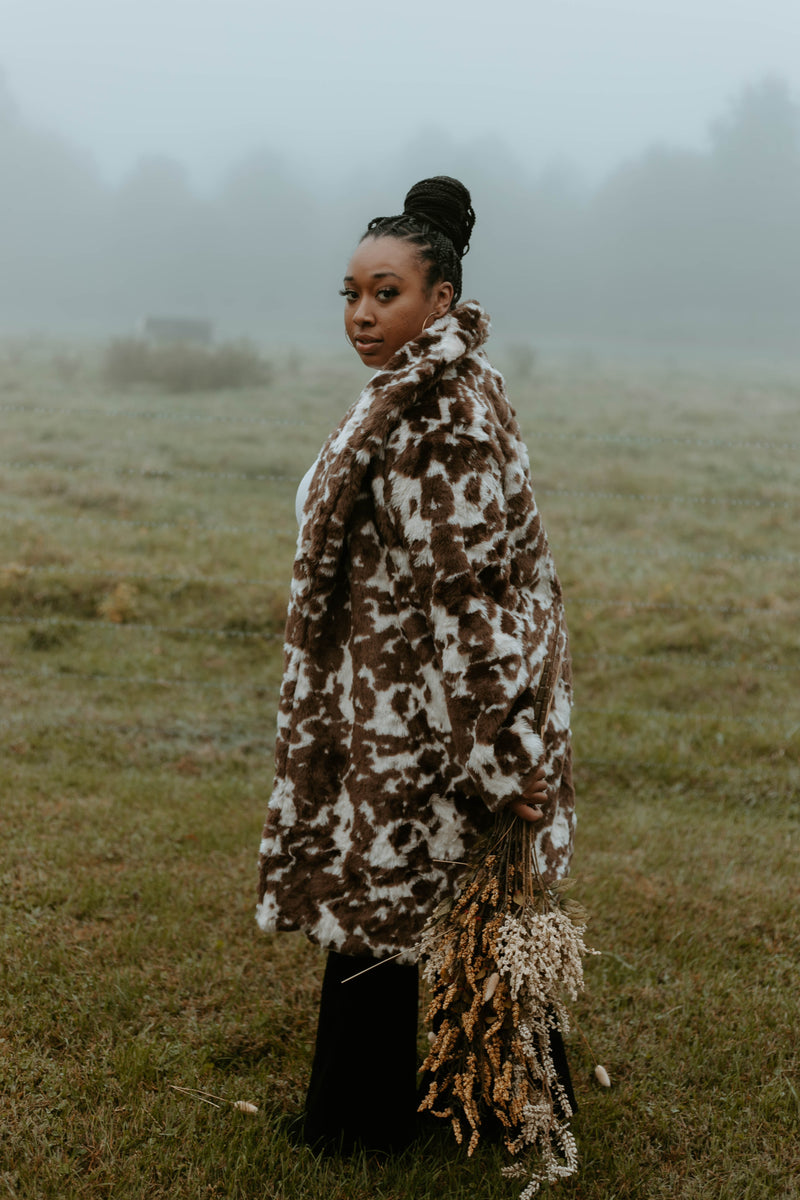 Alpine Faux Fur Coat