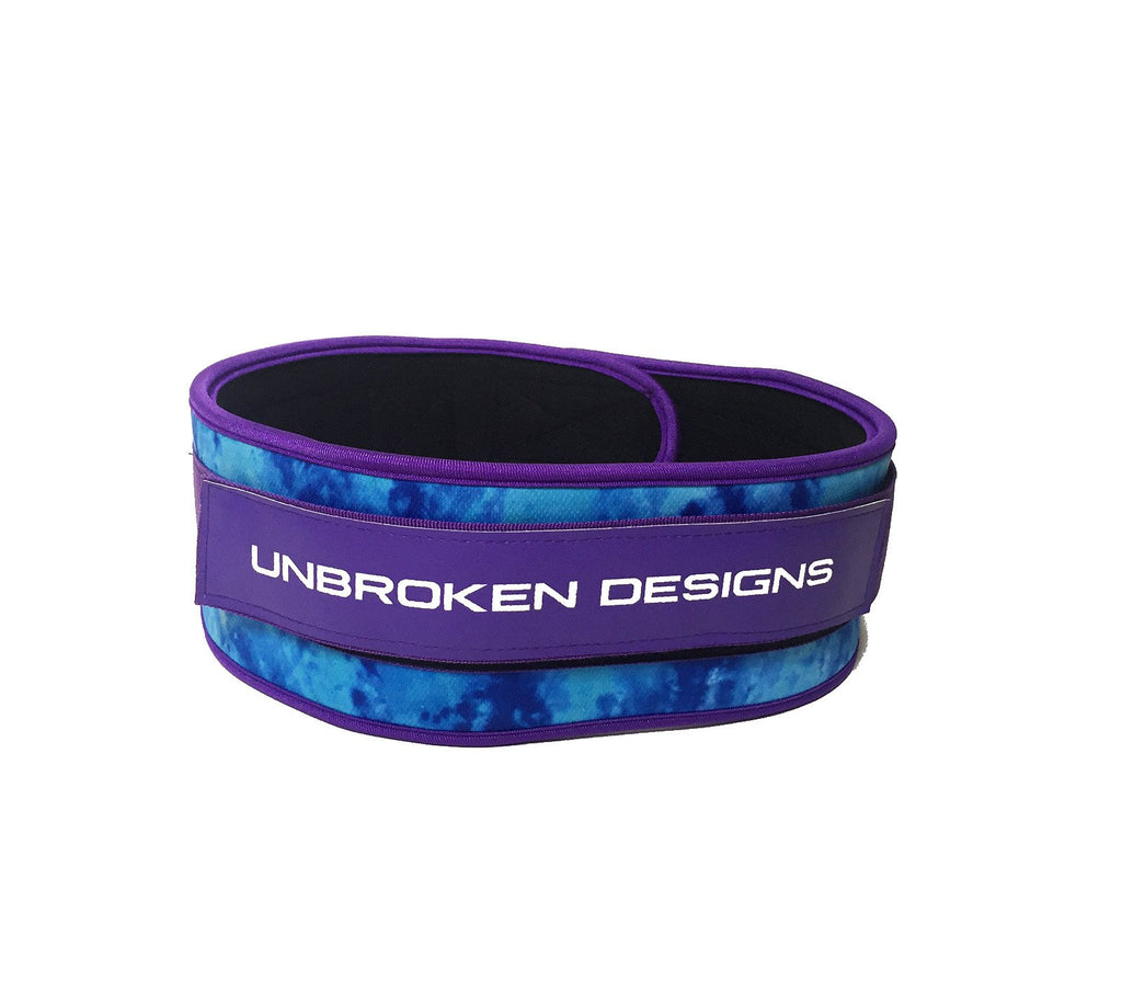 Purple Ombre Weight Belt