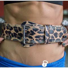 "Lioness 6"" Leather Lifting Belt"