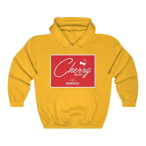 Masc Fit / Unisex Heavy Blend™ - Cherry Batch #22 - Throwback Hoodie