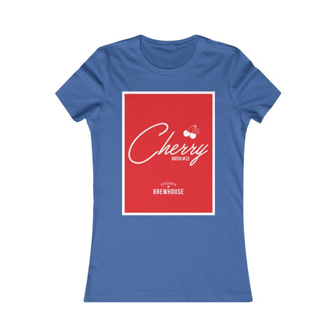 Femme fit - Cherry Batch #22 - Throwback Tee