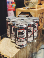 "1 Growler + 3 Crowler Combo (Add Delivery Address, Phone # and Beer Selection to ""Notes"" in Cart)"