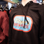 Masc Fit - Unisex - Vintage Fitger's Brewhouse - Throwback Hoodie (Black only)