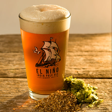 El Niño IPA Pint Glass