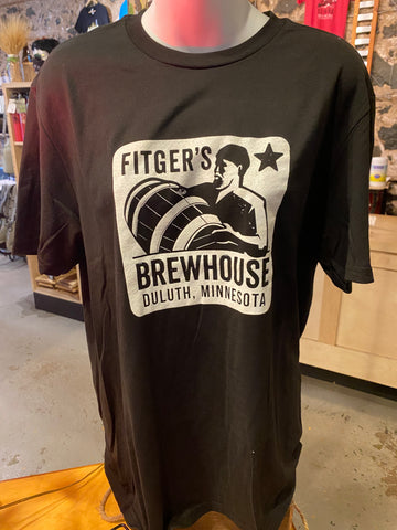 Fitger's Brewhouse Barrel Man T-Shirt