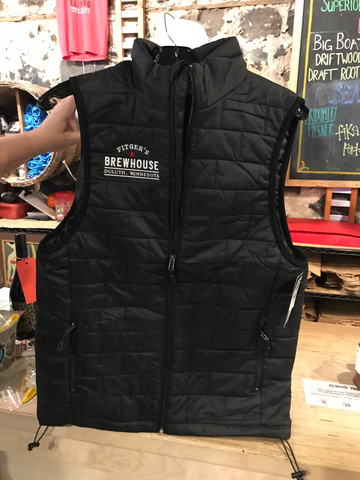 Puffy Brewhouse Logo Vest