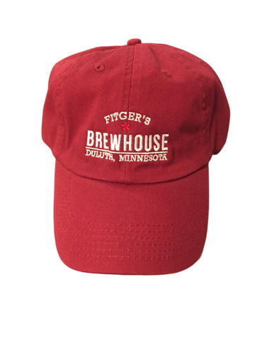 Brewhouse Dad Hat Red
