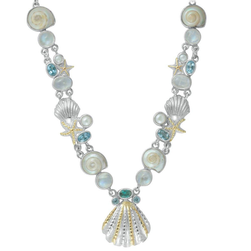 Neptune Jewels spectaclular sea life necklace