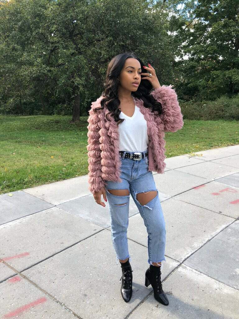 """All's Fair"" Faux Fur Jacket"