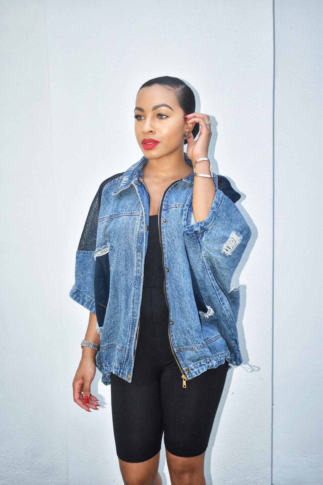 """Summertime"" Jean Jacket"