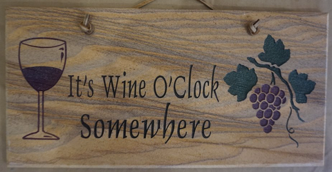 It's Wine O'Clock Somewhere