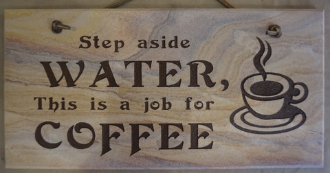 Step Aside Water, This is a Job for Coffee