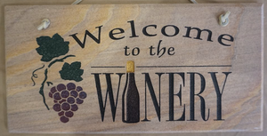 Welcome to the Winery