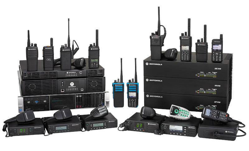 Radio portables, radio repeaters, mobile and base station